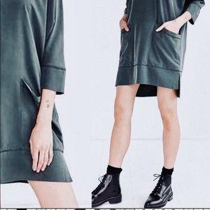 UO Silence & Noise Minimalist Street Style Dress